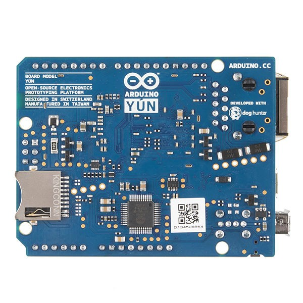 Arduino Yun: Light Control panmen