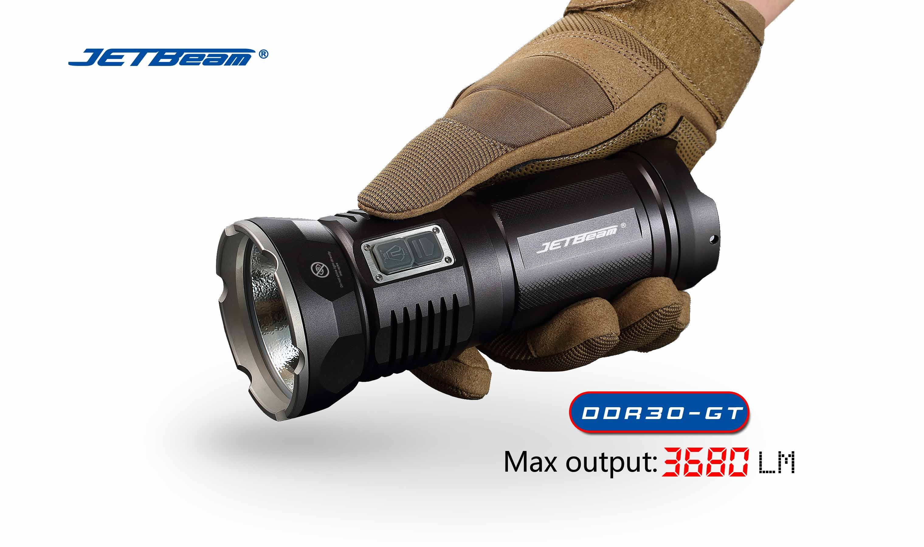 JETBeam DDR30-GT Cree XHP70 LED Max 3680 lumens LED Flashlight