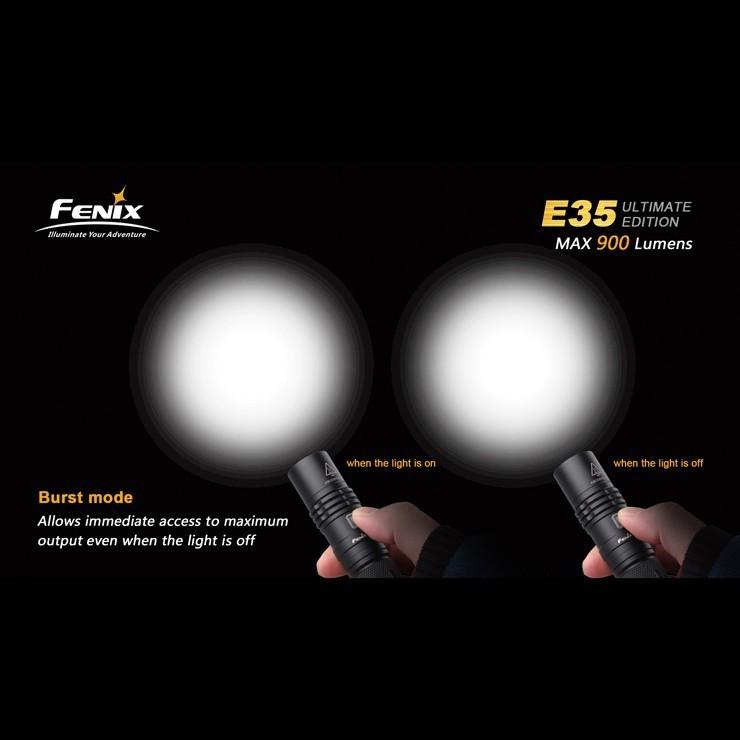 Verwonderend Fenix E35 LED Flashlight UE Ultimate Edition Cree XM-L2 U2 Burst XX-39