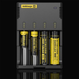 NITECORE i4 (Black) Intellicharge universal smart battery Charger