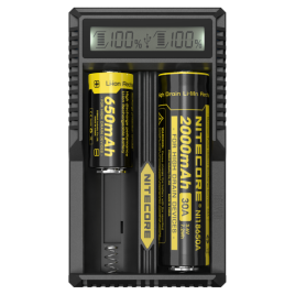 NITECORE UM20 Li-ion battery Charger LCD Display battery Charger
