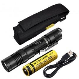 NITECORE MH12 CREE XM-L2 U2 LED 1000 Lumen USB Rechargeable Flashlight