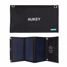 Aukey Universal 21W  Solar Charger For iPhone 7