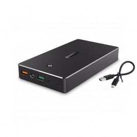 Aukey Power Bank Battery Charger Quick Charge 3.0 20000mAh