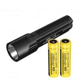 Nitecore EC4GT LED Flashlight Cree XP-L HI V3 1000 lumens (2*18650) Black