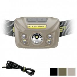 Nitecore NU30 400 Lumens LED Rechargeable Headlamp (Multi Color Version)