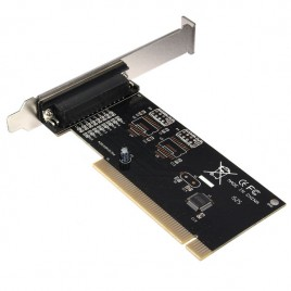 PCI I/O Parallel Port DB25 25 Pin IEEE 1284 Printer Card Controller Adapter