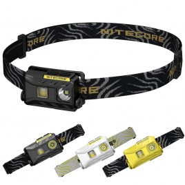 Nitecore NU25 3xLED Rechargeable Headlamp 360 Lumen Triple Outputs Lightweight Headlight