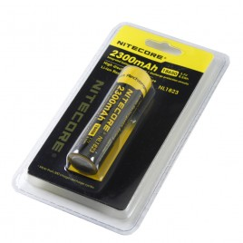 Nitecore NL1823 18650 Battery 3.7V 8.5Wh 2300mAh Protected Li-ion Battery(1pc)