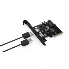 Orico PCI-E to USB 3.1 Type-A Expansion Card SuperSpeed+ (10 Gbit/s)