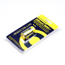 Nitecore NL166 650mAh RCR123A 3.7V 2.4Wh Li-ion Rechargeable Battery(1-pc)