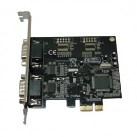 New MOSCHIP mcs9901 pci-e 2S  serial parallel card