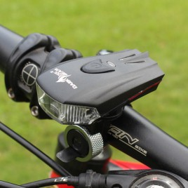 Intelligent Bicycle Headlight (Bike light) USB Rechargeable LED 400LM Bike Front Light