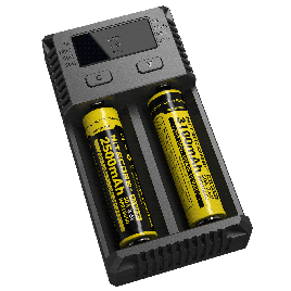 NITECORE New i2 (2016 version) Intellicharge Universal Smart Battery Charger, for AAA AA Li-Ion/NiMH US Plug