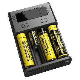 NITECORE New i4 (2016 Black ) universal smart battery Charger